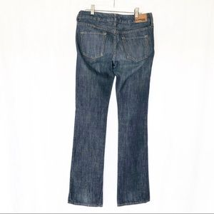 Express Jeans - BOGO Express [2] Long Bootcut Dark Mid Rise Jeans